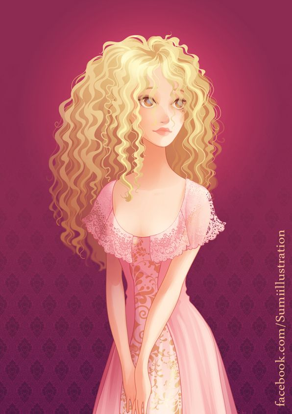 Colombe For Feliane By Blumina Deviantart Com On Deviantart Art Girl Hair Illustration Curly Hair Drawing
