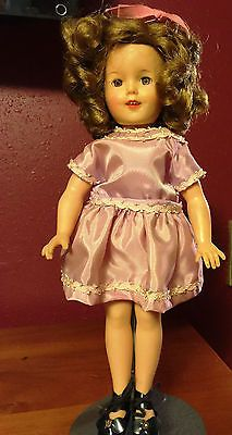 Beautiful 12 Inch Vintage Shirley Temple Doll Ideal Vinyl Flower Girl Dresses Shirley Temple Beautiful