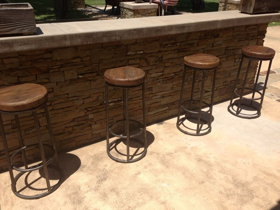Pin By America Stancil On Home Decor Wood Bar Stools