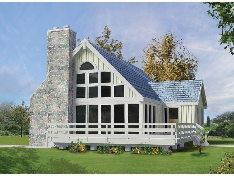 Iris A Frame Lake Home Lake House Plans A Frame House Plans Cottage House Plans