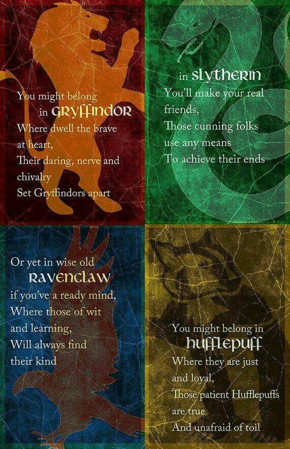 Hogwarts Potterhead Potter Slytherin Gryffindor Hufflepuff Ravenclaw Houses Web Tumblr Wallpaper