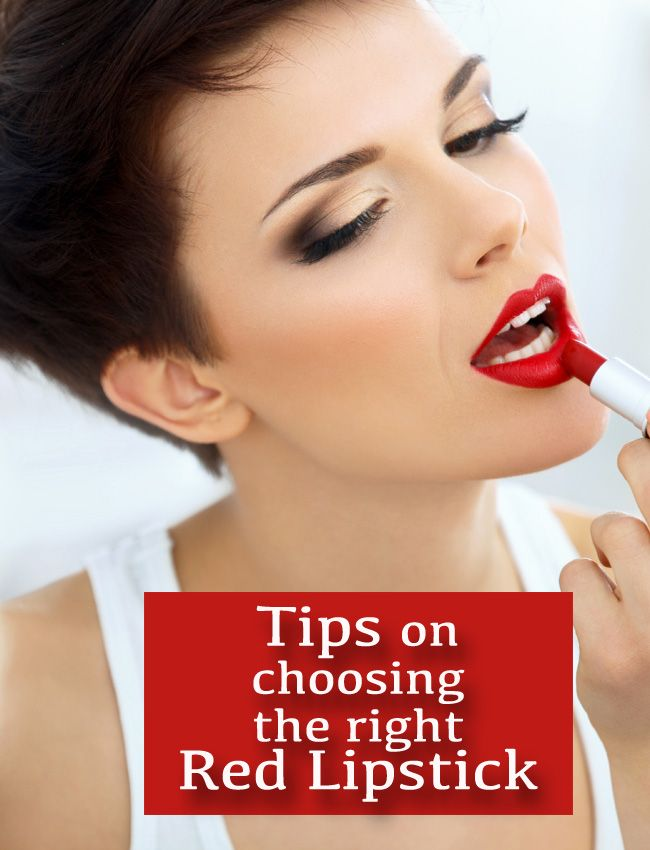 The Best Red Lipsticks + Tips for Choosing the Right One ...
