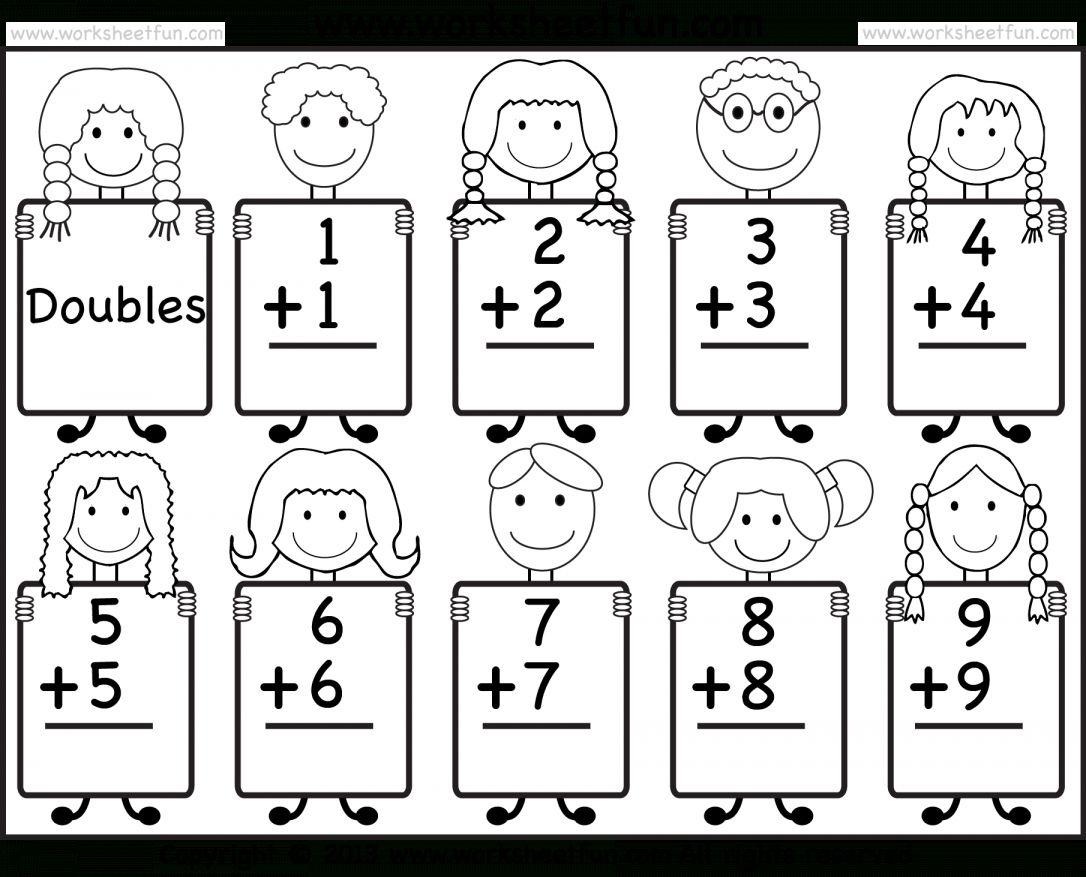 9 Kindergarten Doubles Worksheet