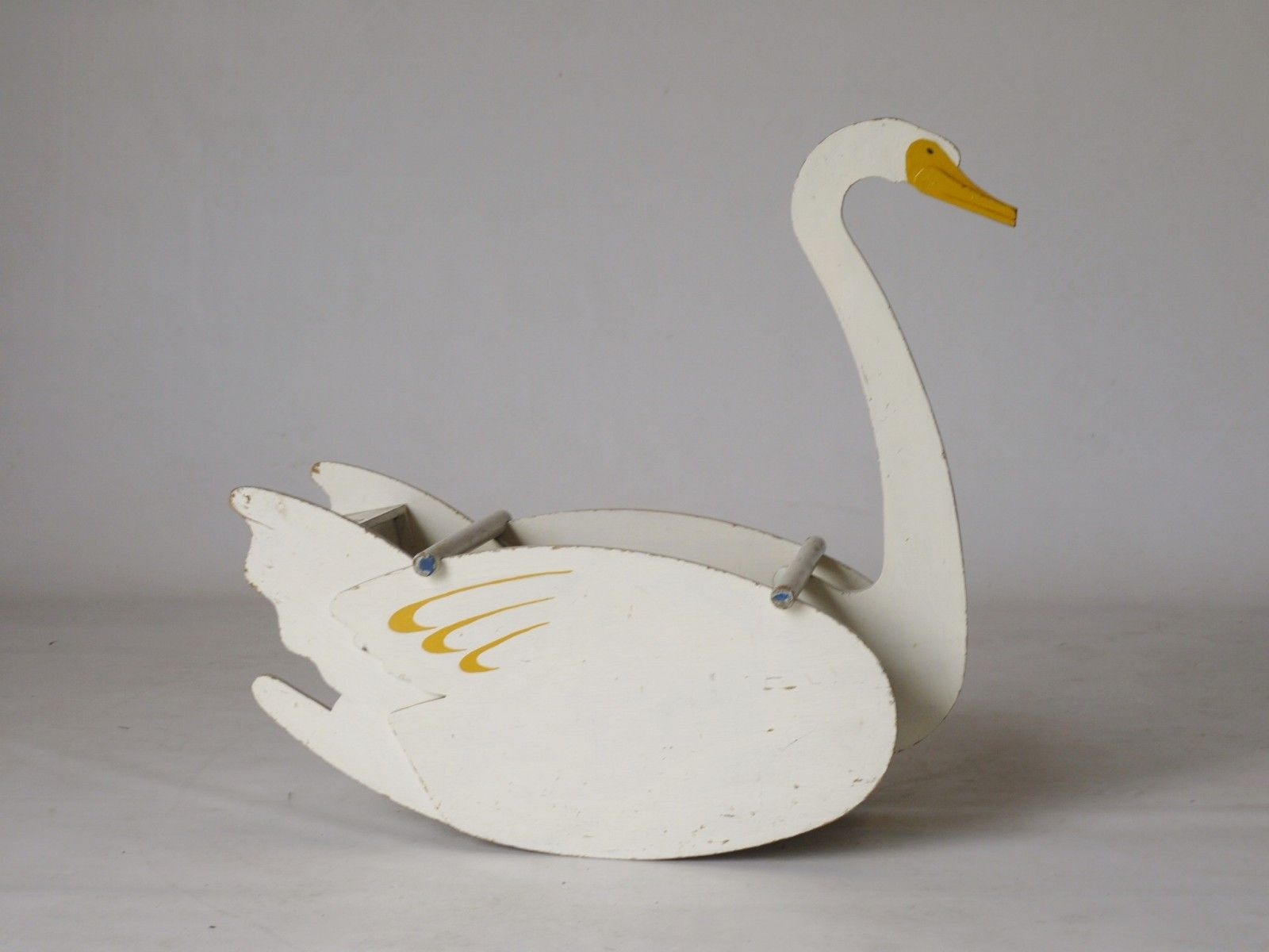 Groovy Childrens Toy Swan Rocking Chair By Ko Verzuu For Ado Ncnpc Chair Design For Home Ncnpcorg