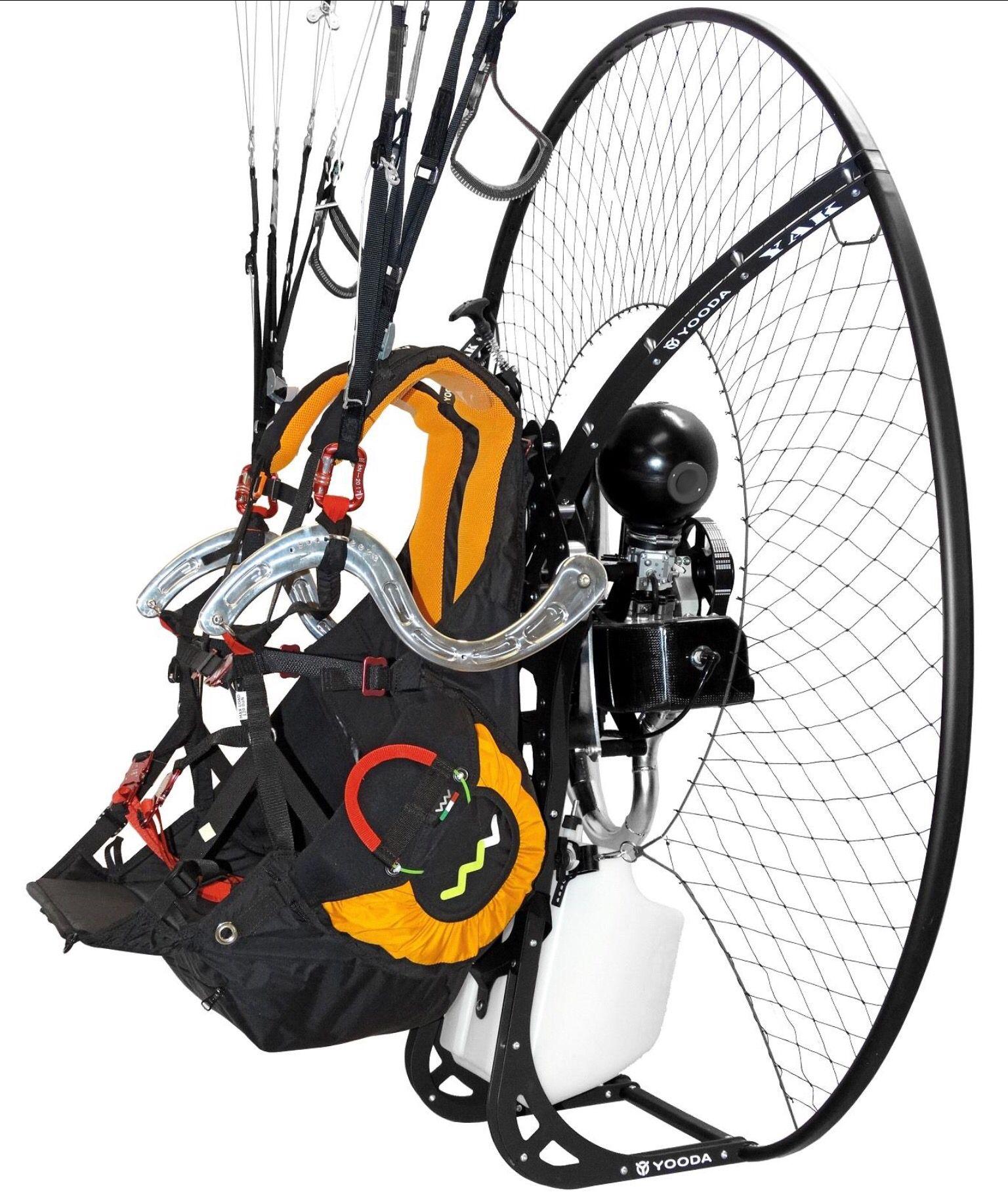 Woody Valley's new paramotor harness Paramotoring