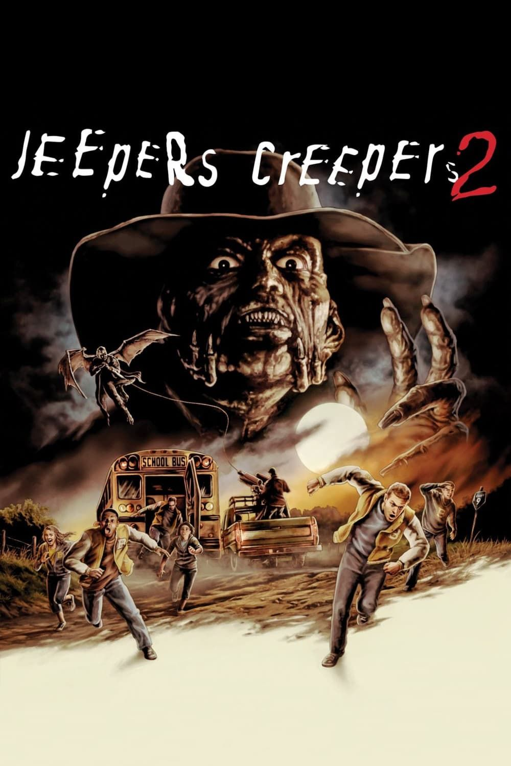 Jeepers Creepers 2 New Hollywood Hindi Dubbed Movie In Hd Jeepers Creepers Creepers Movies
