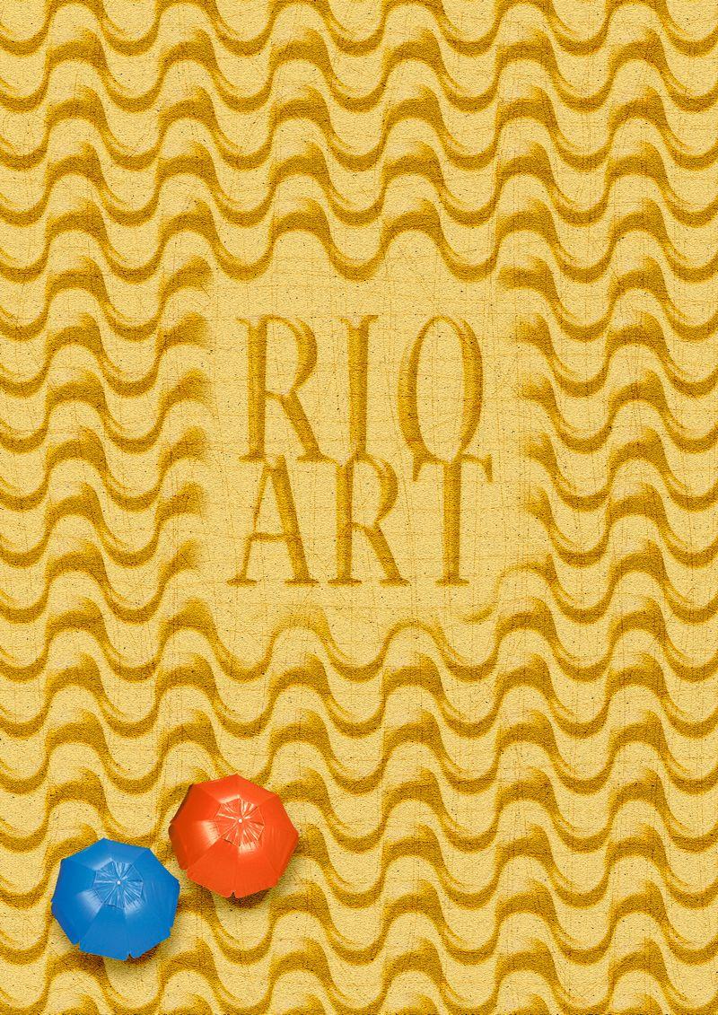 Poster do projeto em homenagem a cidade maravilhosa. http://www.behance.net/gallery/Rio-Art/8481359