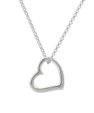 Another great find on #zulily! Sterling Silver Heart Pendant Necklace #zulilyfinds