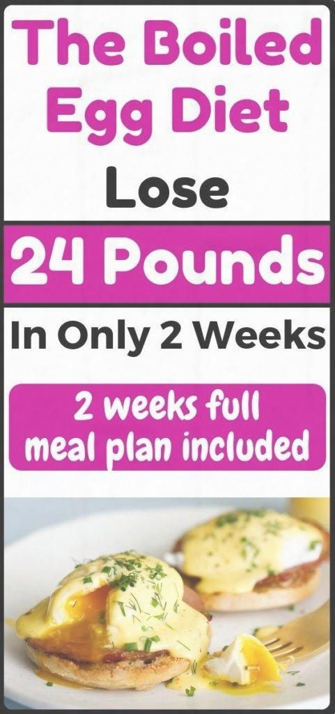The Boiled Egg Diet - Lose 24 Pounds In Just 2 Weeks | Egg ...