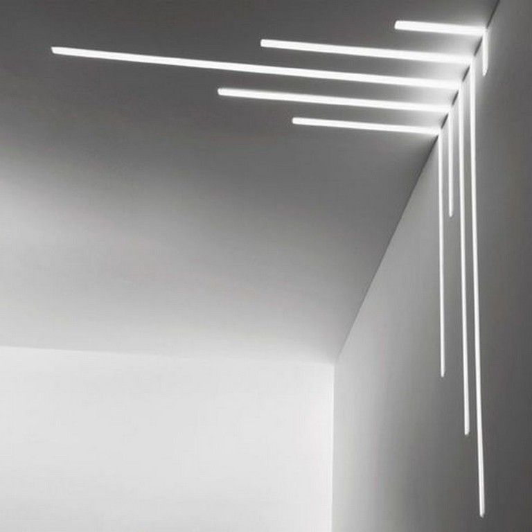 63 Awesome Modern Led Strip Ceiling Light Design Page 41 Of 64