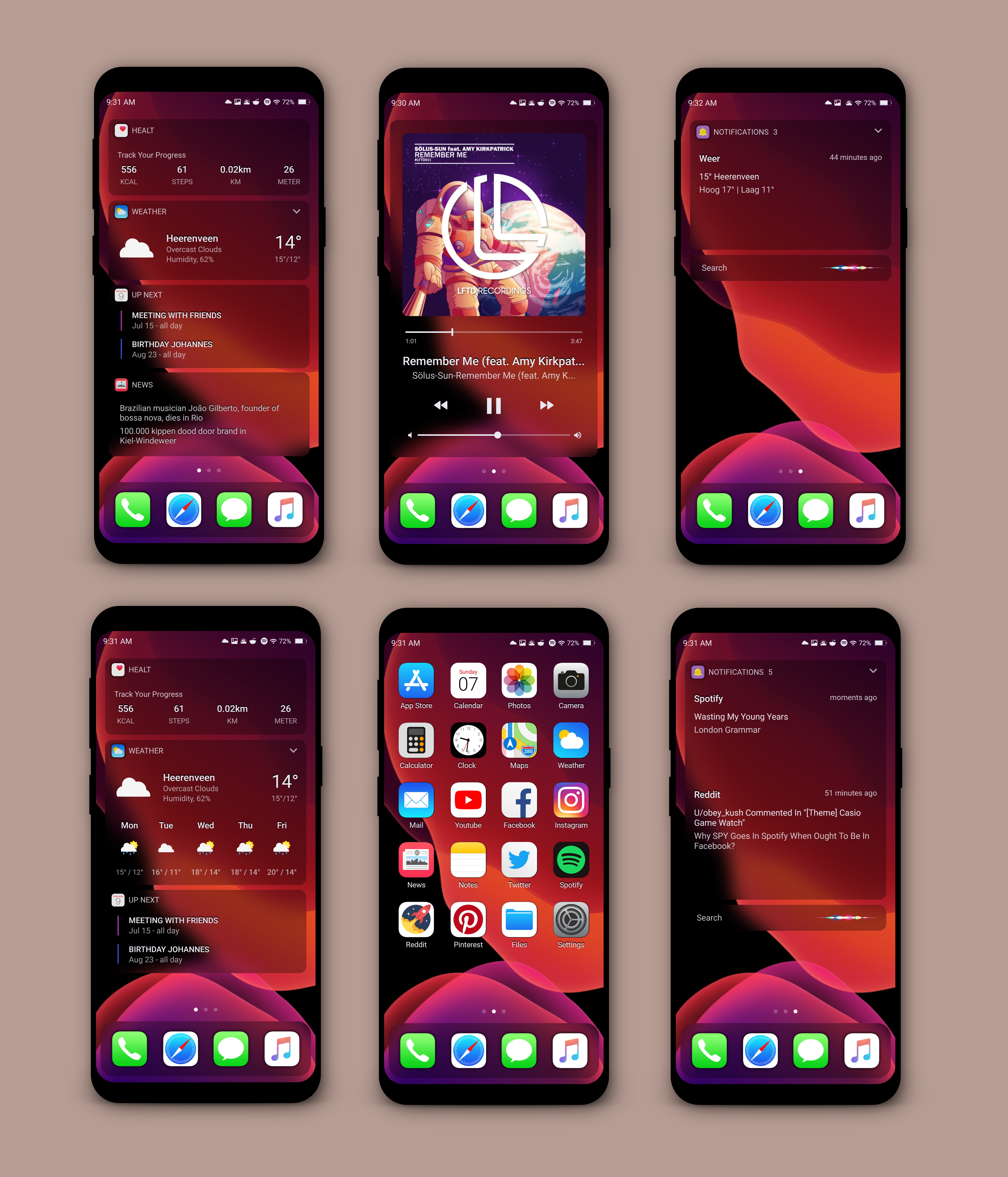 Ios 13 Concept Theme Themes For Mobile Iphone Hacks Iphone Organization