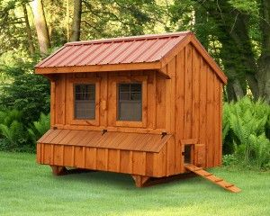5' x 8' Chicken Coop Quaker Style - North Country Sheds ...