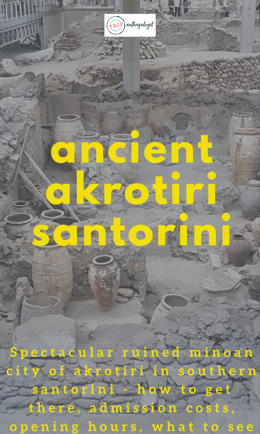 , Santorini's Ancient Akrotiri, Travel Couple, Travel Couple