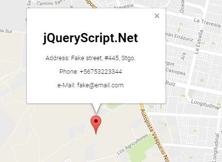 Gmaps Is A Lightweight Jquery Plugin That Makes It Easier To