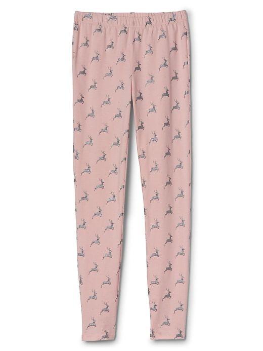 Gap Girls Print Stretch Jersey Leggings Pink Standard | Products