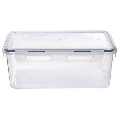 Lakeland Clip Top Airtight Food Storage Container With Silicone Seal  sc 1 st  Pinterest & Lakeland -5l clip top #airtight food storage container with ...