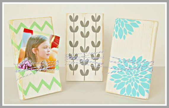 DIY  Unfinished Wood Photo Display Boards  by lilybellaboutique, $4.40