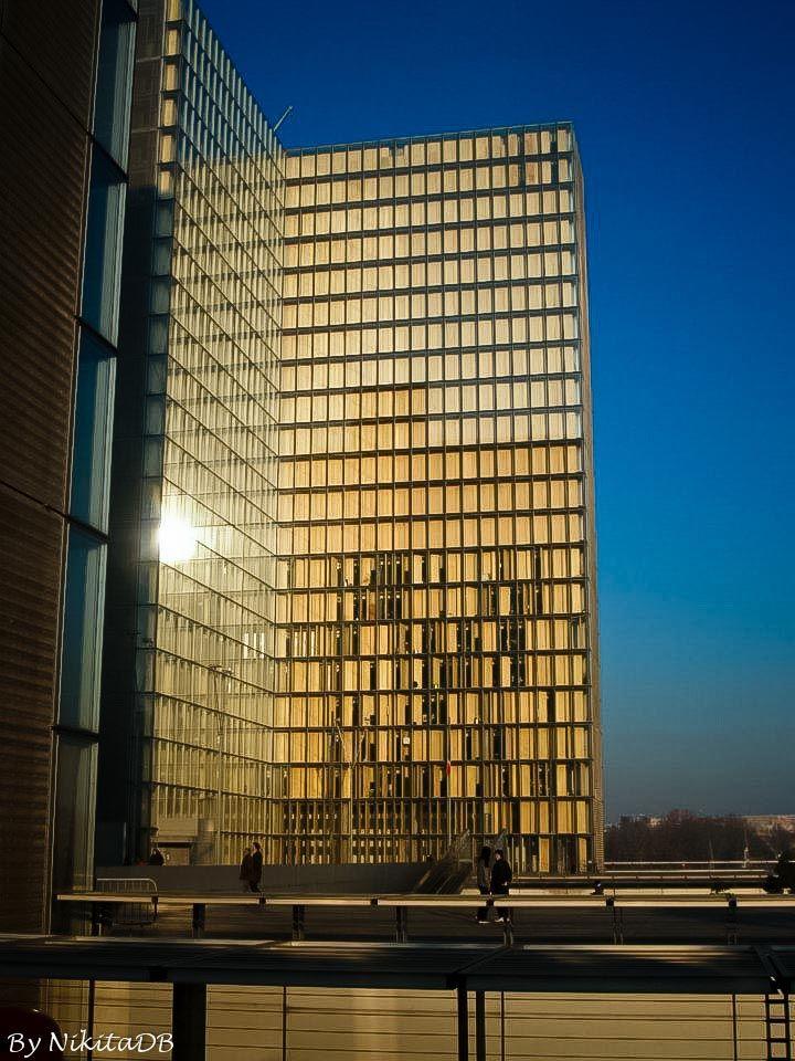 Paris. By NikitaDB. December light. Bibliothèque nationale de France. *