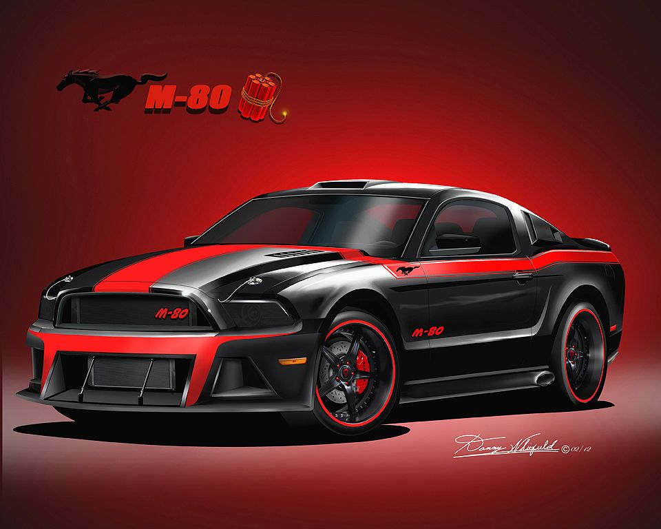 Gallery For Mustang 2013 Black And Red Mustang Red Mustang Black Mustang