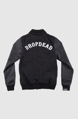 Varsity Jacket from Drop Dead Clothing
