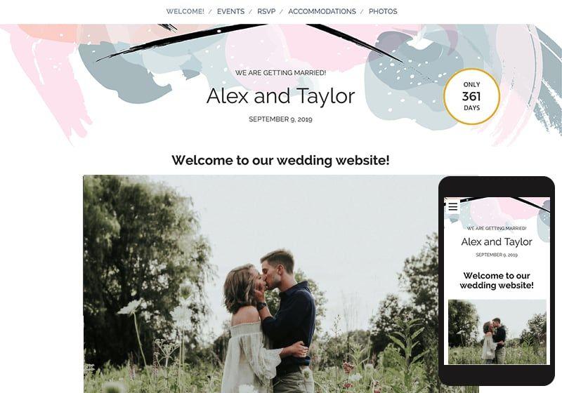Weddings Wedding Weddingwire Com Personal Wedding Website Wedding Website Free Wedding Website