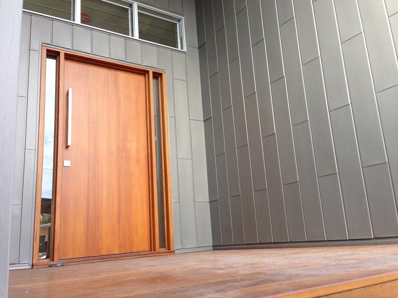 Zinc Quartz Flat Lock Exteriors Zinc Cladding Zinc