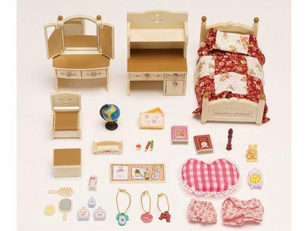 Sylvanian Families Official Website Sylvanian Families Calico Critters Families Bedroom Set