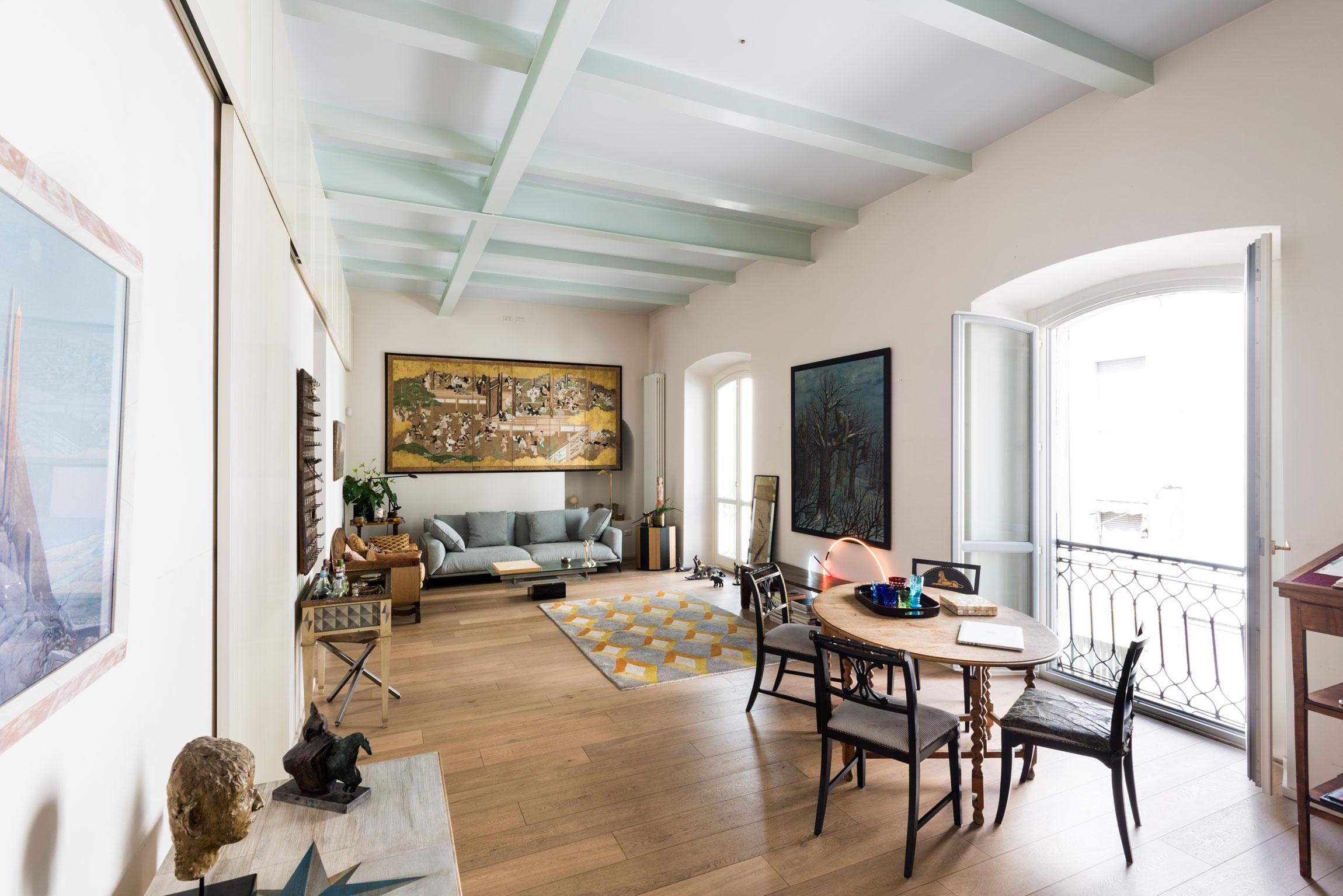 Klasszikus belső tér francia erkéllyel - nappali ötletek ...