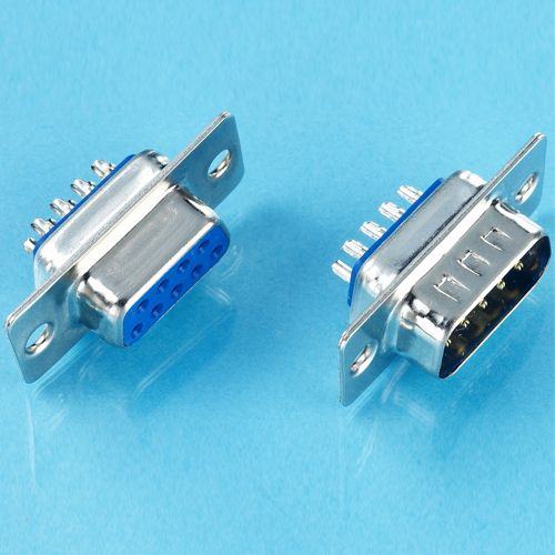 2 Pair DB25 Male and Female Connector Solder Type