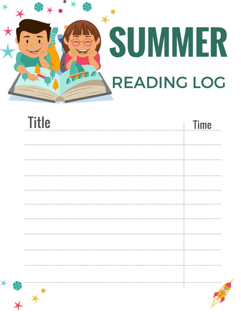 Summer Reading Log FREE PRINTABLE: Keep summer reading on track with this free…