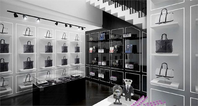 karl lagerfeld er ffnet eigene concept stores in berlin und m nchen luxus orte lifestyle. Black Bedroom Furniture Sets. Home Design Ideas