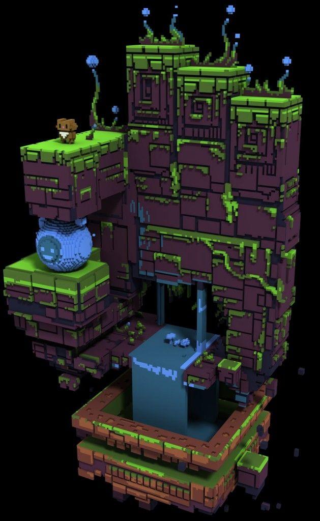 Character Design Unreal Engine 4 : Qubicle maya epic games unreal engine ue