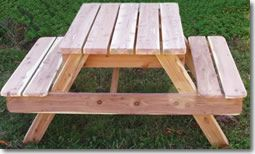 Child's Picnic Table  $524.00