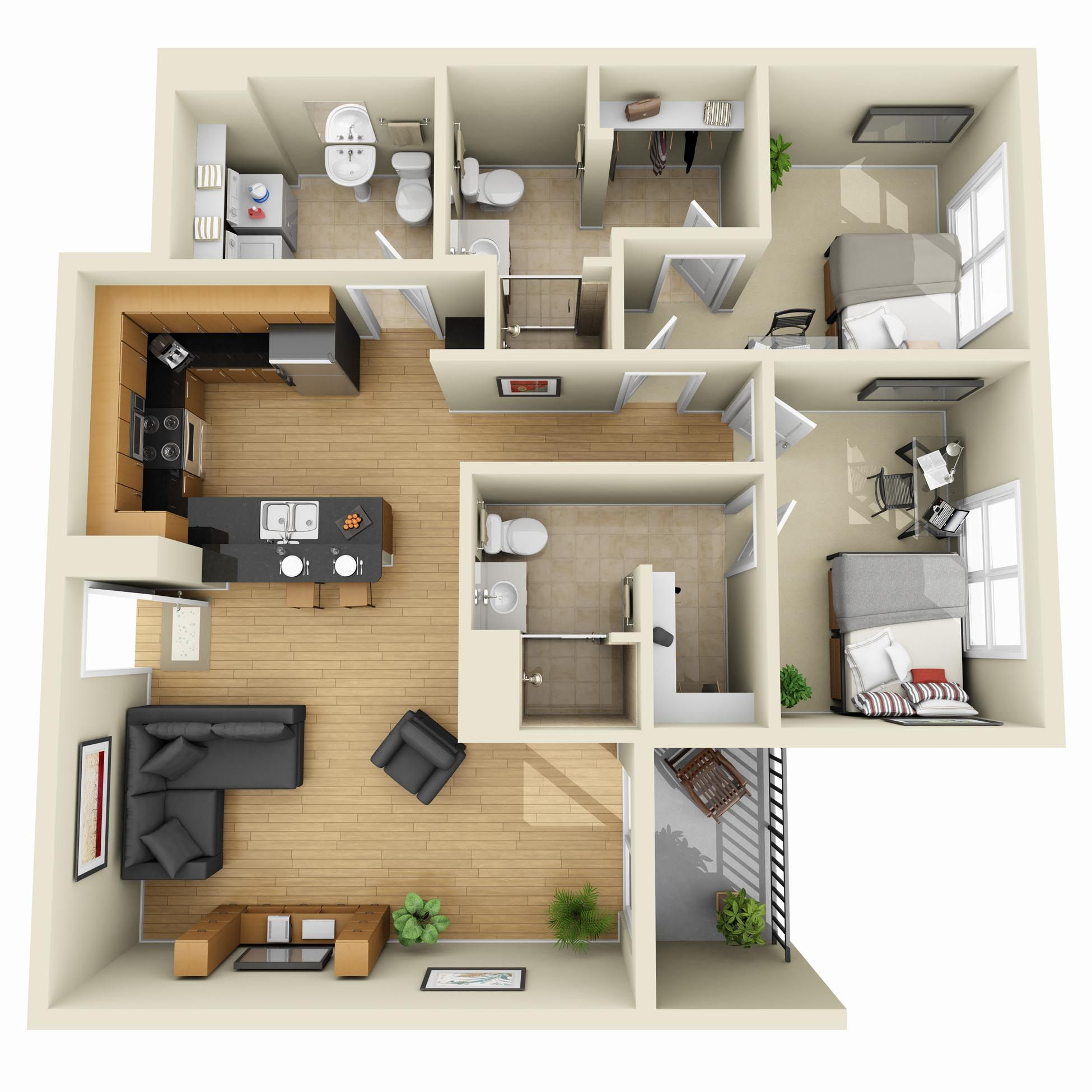 Spectacular d floor plan apartment Google Search