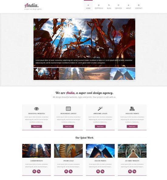 60 Free Responsive Html5 Css3 Website Templates Website Template Free Html Website Templates Free Web Design