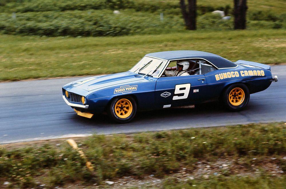Mark Donohue Camaro Penske Sunoco 1969 Autos Nascar Prototipos