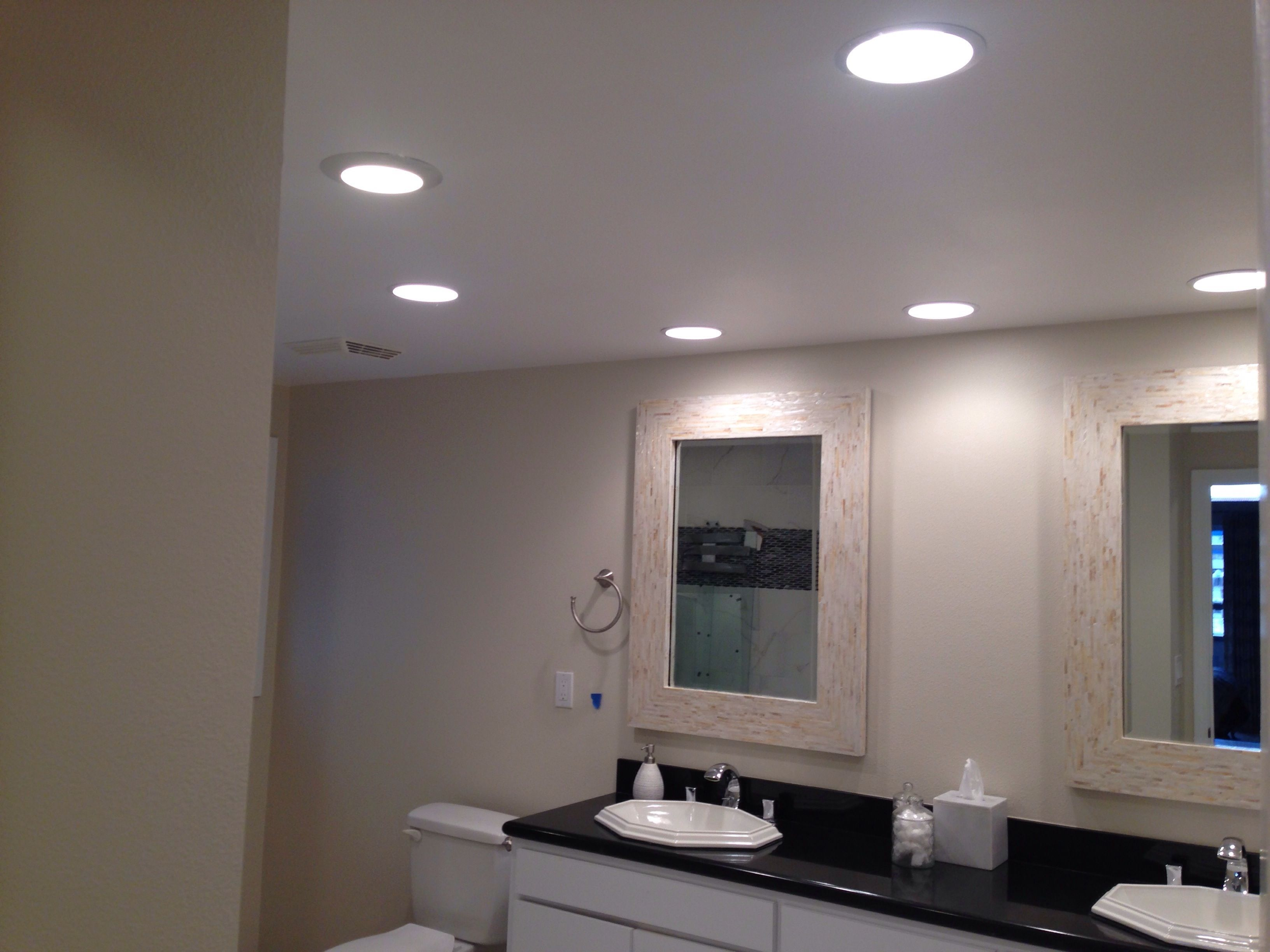 Bathroom Recessed Lighting With Images
