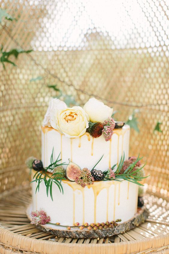 Non-Traditional Wedding Cakes – Drip Cakes - Mustard Seed ...