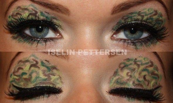 bareiselin camouflage makeup look 2