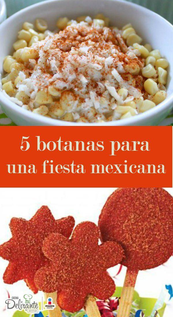 Recetas mexicanas para fiestas
