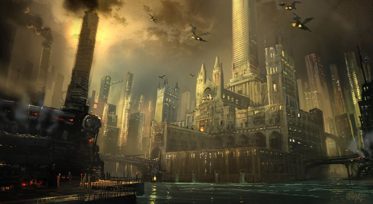Dark City, Cool Art: Awesome Neo-Noir and Urban Fantasy ...