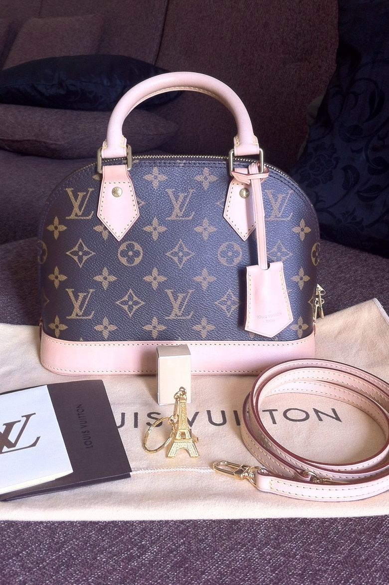 6024a3f80247 Louis Vuitton Mono ALMA BB.   Bags   Pinterest