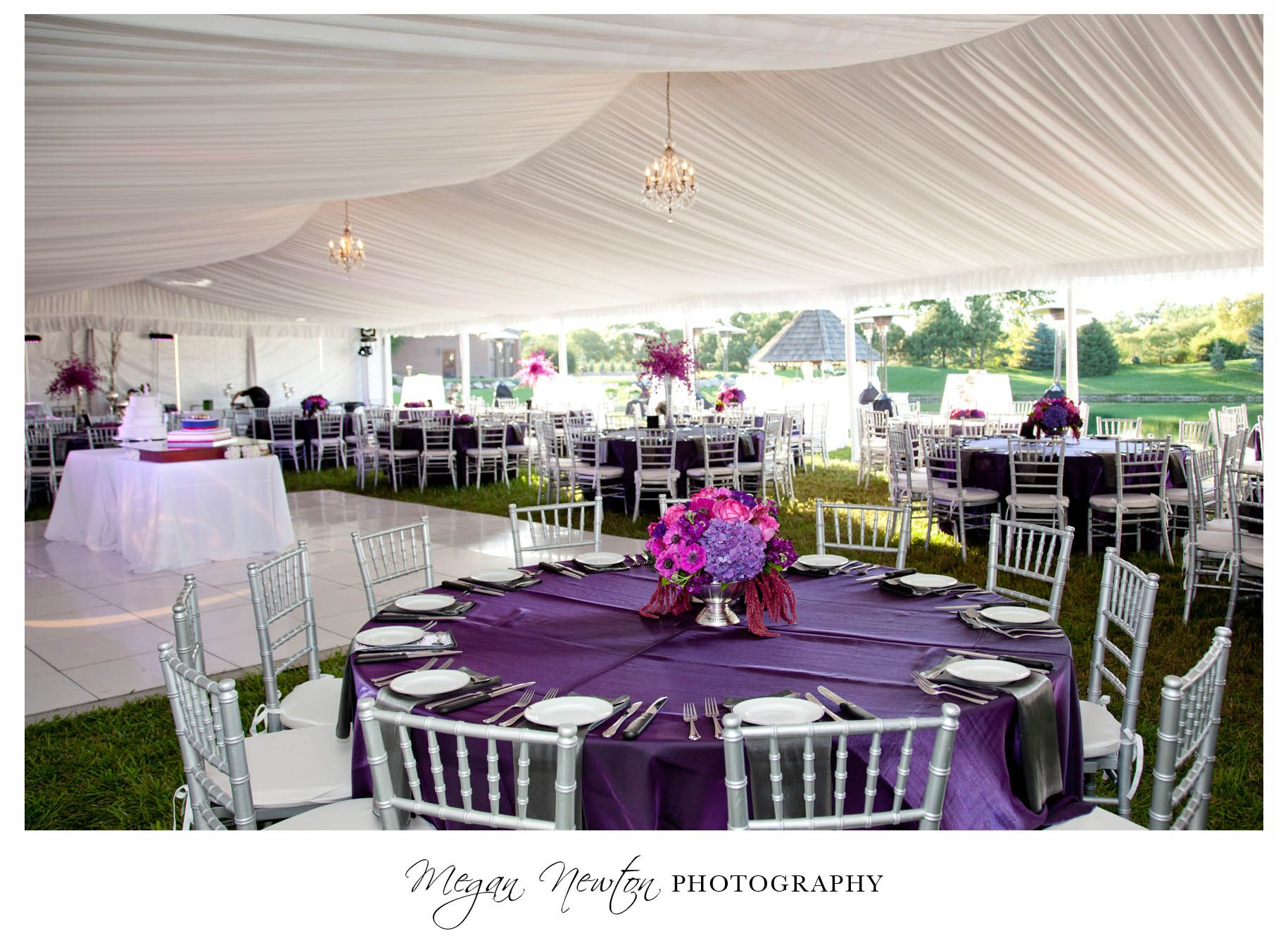 Ceiling Drapery Tent Liners