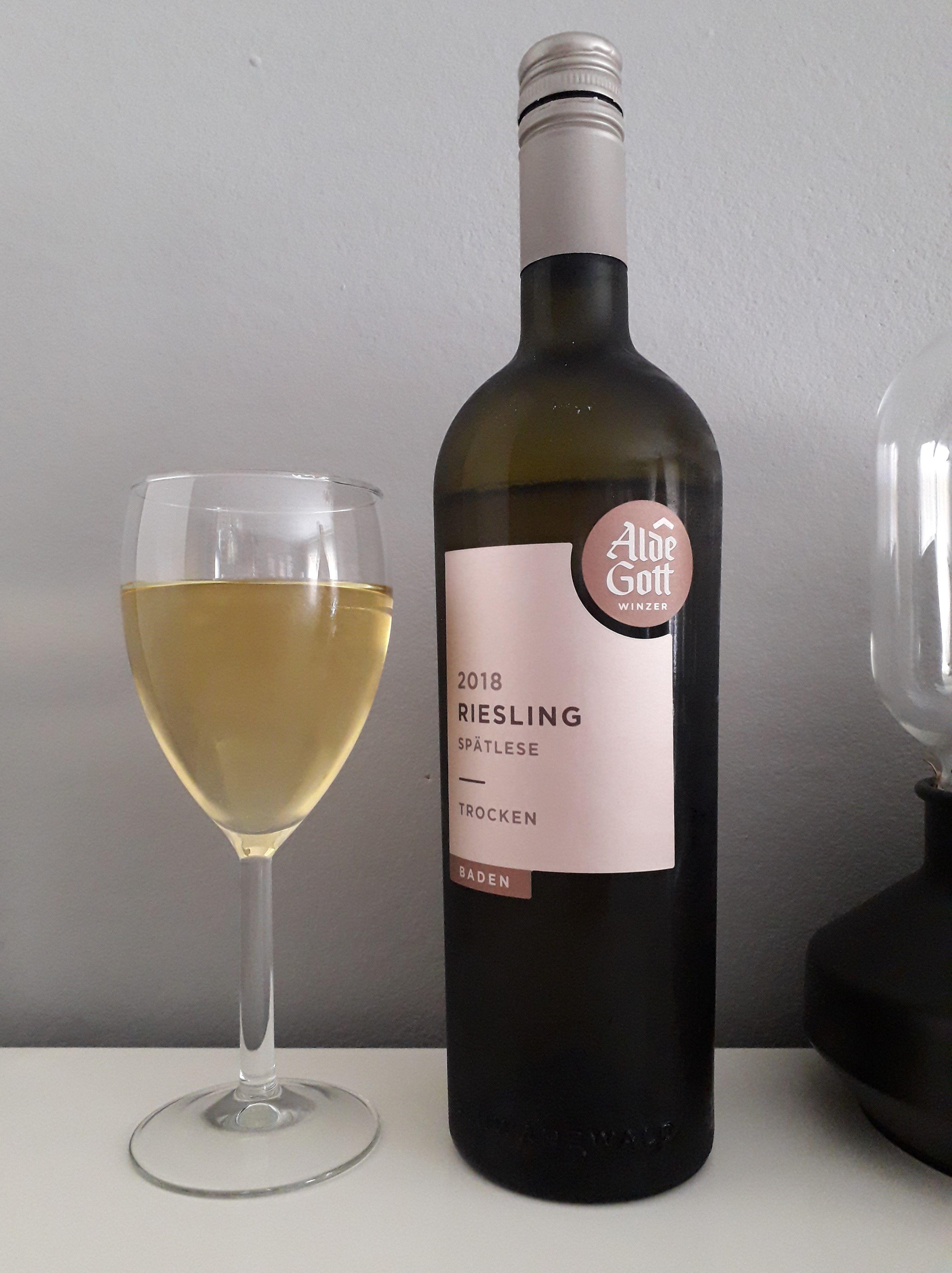 Alde Gott Riesling Spätlese 2018 Vino Blanco Riesling Vinos