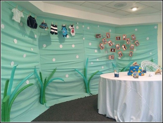 Under The Sea Decorations For Baby Shower. | Under The Sea Baby ...