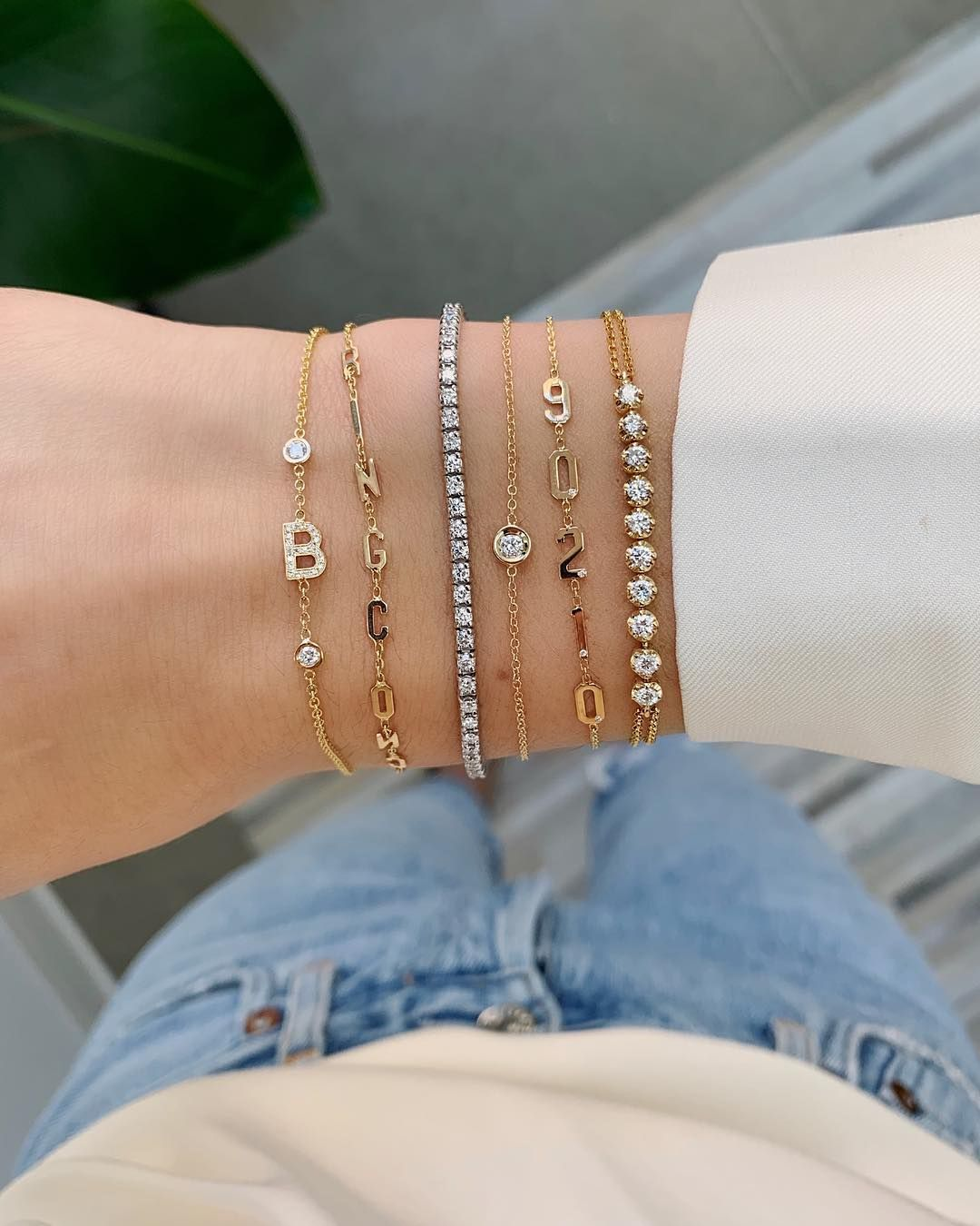 Now S The Time To Build Your Wrist Stack Our Biggest Sale Of The Season Is Happening Now Btw Tennis Bra Wrist Stacks Tennis Bracelet Diamond Bracelets