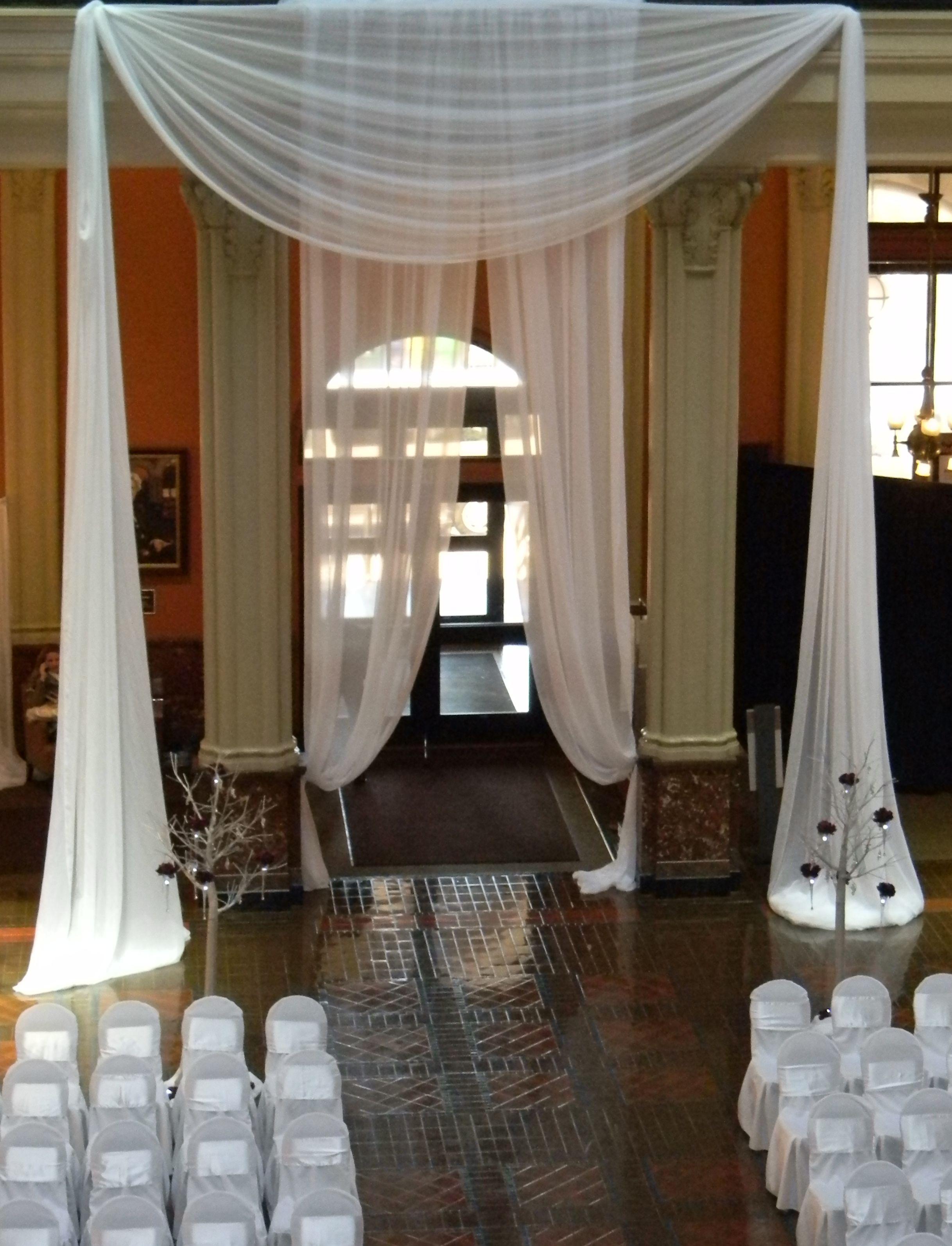 Chair Covers Oriental Trading Outdoor Egg Nz Landmark Center In St Paul Mn Draping Linens