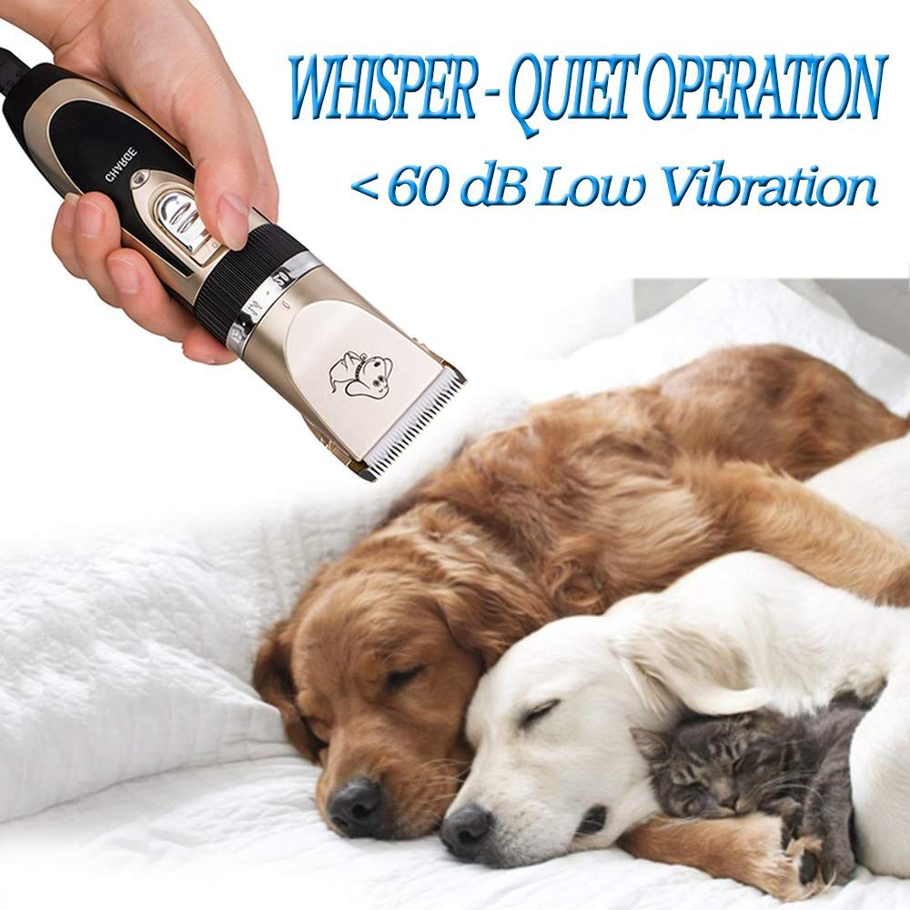 Cahtuoo Dog Grooming Clippers Professional Pet Grooming Kit