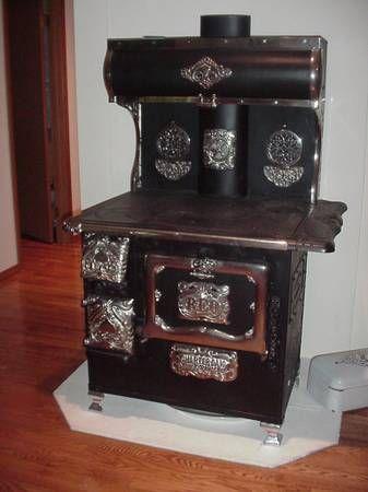 image 1 | Antique wood stove, Antique cast iron stove ...
