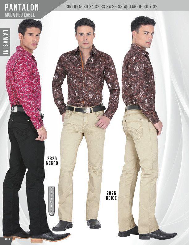 2826 Pantalon Caballero Lamasini Red Label